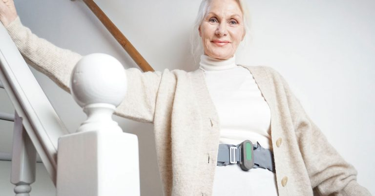 BalanceBelt: Reflections on a belt that helps people with severe balance disorders.